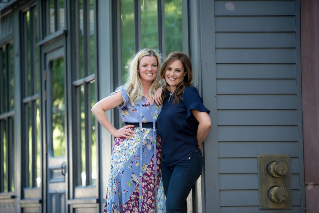 headshot of 2 women business partners