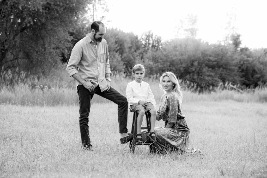 family portrait taken by Michele Cardamone