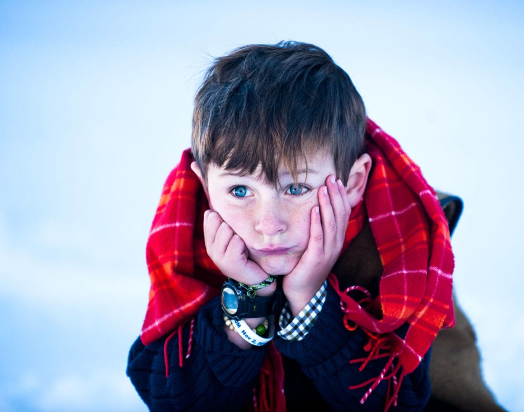 portrait of a young boy taken by Michele Cardamone