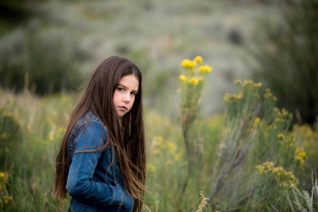 portrait of a girl taken by Michele Cardamone