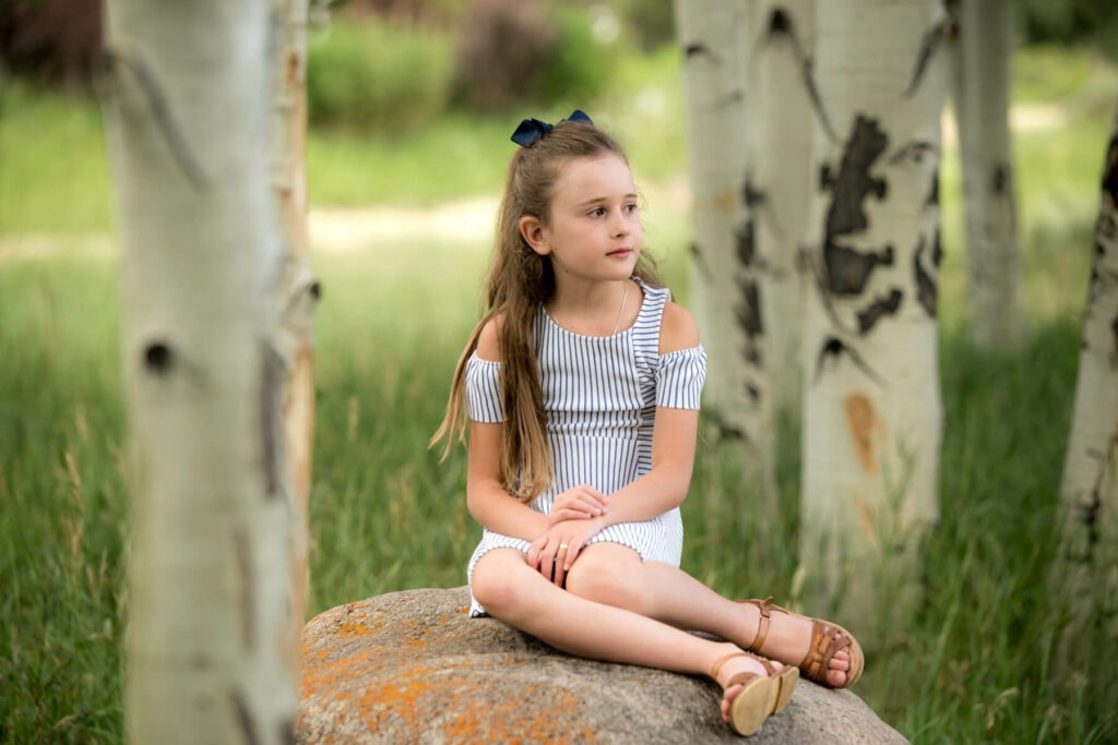 Outdoor child portrait