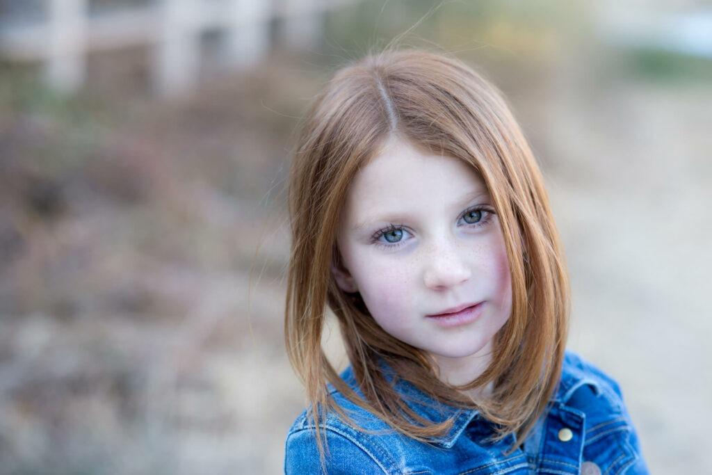 Beautiful red head girl